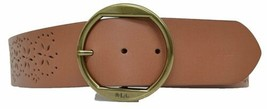 Lauren Ralph Lauren Brindley Perforated Stretch Brown X-Large - $31.90