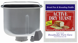 Bread Loaf Pan Fits Cuisinart BMKR-200 Series Breadmaker Part # CBK-100PAN New! - $59.49