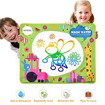 Doodle Drawing Mat - Rainbow Color Magic Water Painting Mat With 3 Magic... - $17.68
