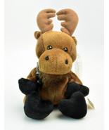 Coca-Cola Bean Bag Plush Moose Gourmand International Collection CANADA ... - $18.90