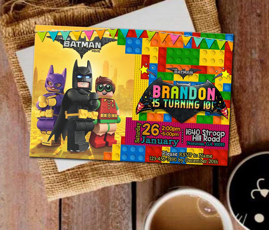 Birthday Invitation Lego Invitation Lego And Similar Items