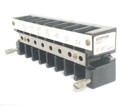 MARATHON SPECIAL PRODUCTS 1508SC BARRIER TERMINAL BLOCK, 600V, 75A