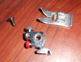 Pfaff 917 Hobbymatic Presser Foot Ankle w/Button Release, Set Screw & ZZ... - $15.00