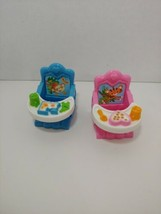 Fisher Price Loving Family Dollhouse Twin Baby Booster Chairs Removable ... - $9.89