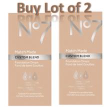 No7 Warm Sand Match Made Custom Blend Foundation Drops 15ml Lot of 2 New  - $12.59