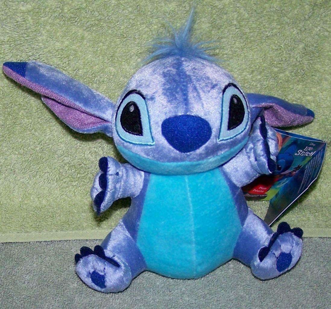 "Disney Store Lilo & Stitch STITCH 6H"" Mini Plush NWT"