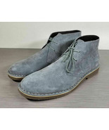 The Rail Tempe Chukka Boot, Grey Suede, Mens Size 9 M / 42 - $41.99