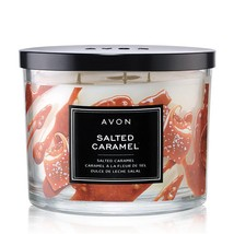 Set of 2 NEW 11 oz 3 Wick Candles - Vanilla Buttercream & Salted Caramel - $30.86
