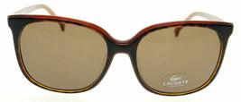 LACOSTE Havana / Brown Sunglasses L602S 214 - $77.91