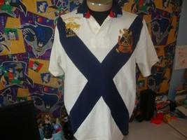 Vintage Ralph Lauren Rugby Polo Shirt RLPC 1967 Bleecker Cup Size L  - $49.49
