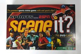 Scene It GAME Sports Edition powered by ESPN The DVD Game 2005 Screenlife - $11.97