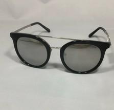 NEW MICHAEL KORS MK 2056 Lia 32716G Round Black Silver Sunglasses 50-21-140 - $84.15
