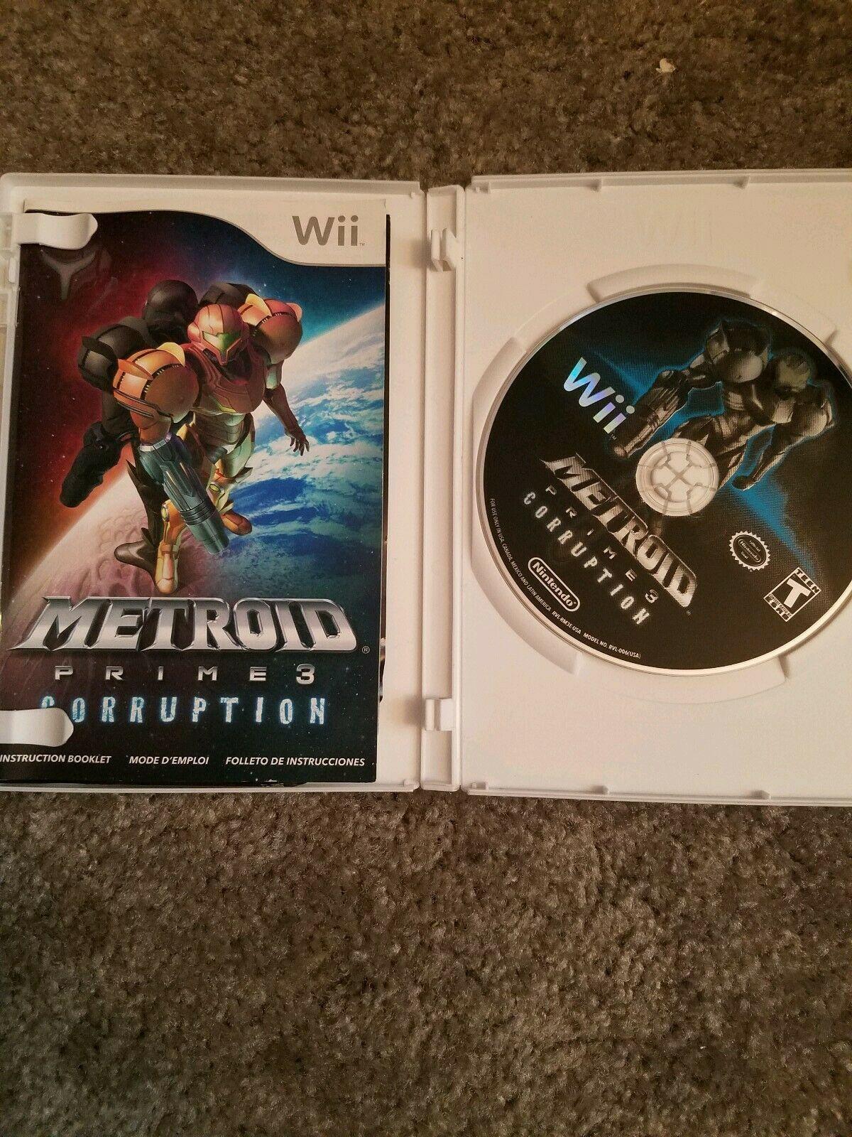 Metroid Prime 3: Corruption (Nintendo Wii, 2007) image 2
