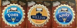 Mulberry Studio Bottle Opener Fridge Magnet Coaster Boss Gift Andy Willi... - $11.99