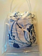 Its A Wrap Blue  Beach Dress Cover Up With Carrying Bag Size Medium image 2