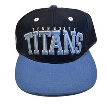 NFL Apparel Tennessee Titans Embroidered Snapback Cap Green Under Brim NWD - $18.95