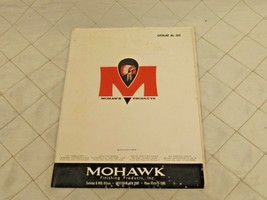 Vintage Mohawk Finishing Products Catalog No 202 includes Tone Finish Sh... - $12.63