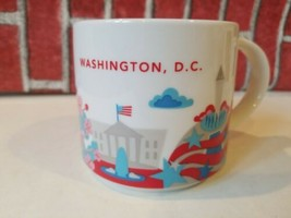 STARBUCKS You Are Here Washington DC Cherry blossoms Coffee Tea Mug 2013... - $18.26