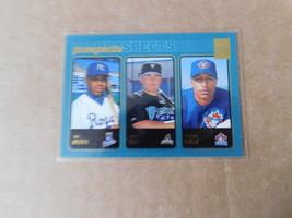 prospects baseball card #736 topps 2001 Dee Brown, Jack Cust, Vernon Wells - $6.99