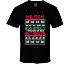 Wilson Jolliest Bunch Of Assholes Christmas Vacation Custom Family Holid... - $20.99+