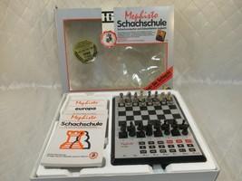 Mephisto Europa Schachschule Computer Chess Computer w/ Box Vintage 1988 - $77.22