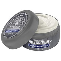 Luxury Shaving Cream for Sensitive Skin- Unscented - Soft, Smooth & Silky Shavin