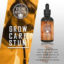 Beard Oil Conditioner - All Natural Cedarwood & Pine Scent with Organic Argan &  image 6
