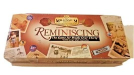 Reminiscing The Millennium Edition Remembering 1940s-1990s Board Game  - $17.71