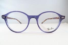 Ray-Ban RB 7118 8020 Clear Purple / Havana  Round Eyeglasses 50mm - 62 - $75.71