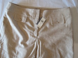 New ANN TAYLOR Cropped Gaucho Lined Dress Pants Wool Blend, 16 NWT, $88 - $21.78