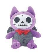 SUMMIT COLLECTION Furrybones Purple Bat Flappy Wearing Red Bow Tie Small... - $10.88
