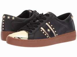 MICHAEL Michael Kors Frankie Striped Sneakers Mult Sz - $119.99