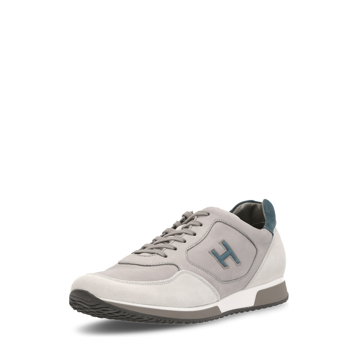Primary image for Hogan Mens Sneaker Light Grey HXM1980H67166XX26E7