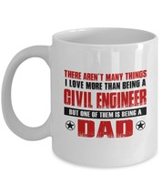 Funny Mug-Civil Engineer Father-Best Inspirational Gifts for Dad-11oz Co... - $13.95