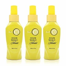 It's a 10 Haircare Miracle Blonde Leave-In Treatment, 4 oz. Pack of 3
