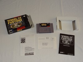 Wheel of Fortune - Deluxe Edition Super Nintendo Entertainment System, 1... - $9.99