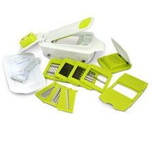 MegaChef 8-in-1 Multi-Use Slicer Dicer and Chopper with Interchangeable ... - $36.19