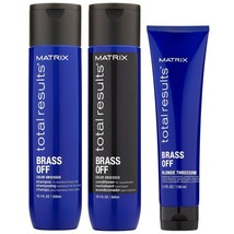 MATRlX Total Results Brass Off Shampoo & Conditioner 10oz & Blonde Three... - $26.17