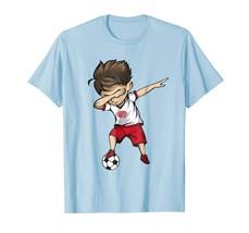 Sport Shirts - Dabbing Soccer Boy Japan Jersey Tee - Japan Flag Football Men - $19.95+