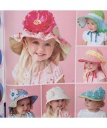"Simplicity Sewing Pattern 1682 Girls Child Hat XS 18""- S 19""- M 20""- L 2... - $16.38"