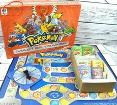INCOMPLETE 2005 Milton Bradley Pokemon Master Trainer Board Game - $32.00