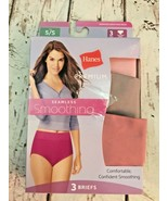 Hanes Premium seamless smoothing 3 briefs panty panties  Sz S / 5 New - $12.19