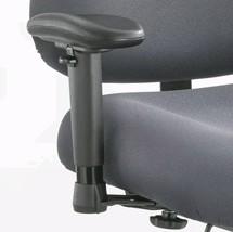 Optimus Big & Tall Chair, 400 lb. Capacity, Arm Kit