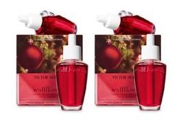 Lot of 4 Bath & Body Works Tis The Season Wallflower Home Fragrance Refi... - $22.99