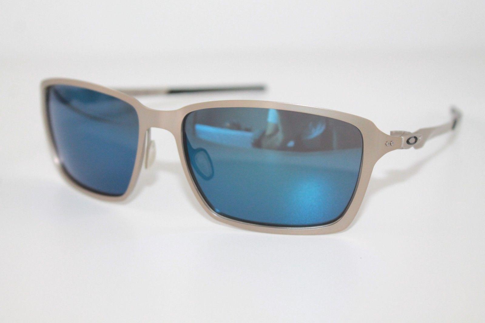 ca5878619c39d 57. 57. Previous. Oakley Tincan Sunglasses OO4082-04 Light Frame W  Ice  Iridium Lens Metal. Oakley ...