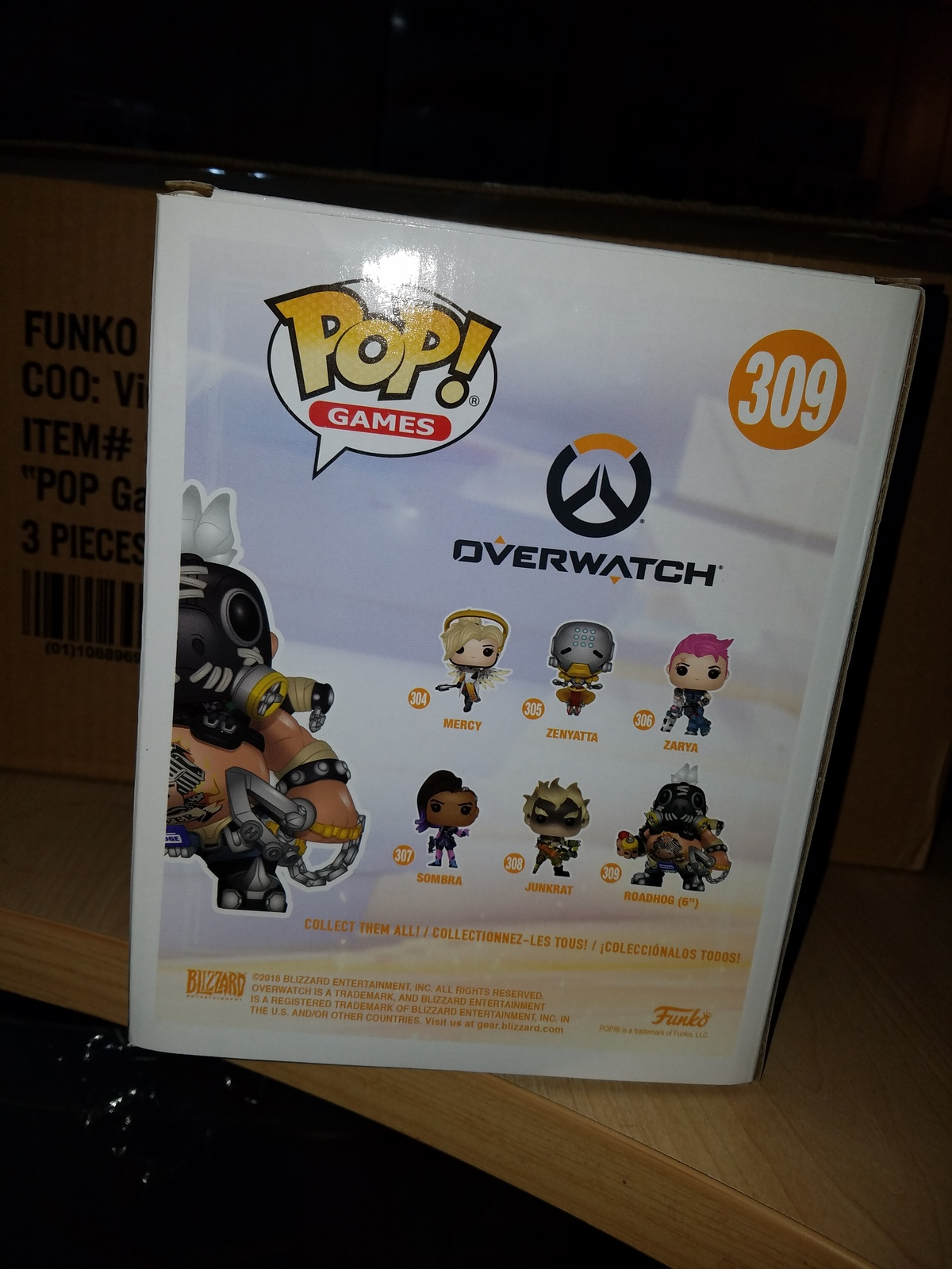 Overwatch Roadhog 6in Funko Pop