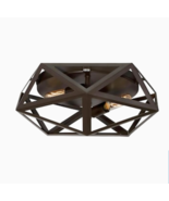 Quoizel Liberty Park 13-in Bronze Modern/Contemporary Flush Mount Light  - $64.34