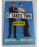 It Takes Two By Jonathan Scott and Drew Scott Autographed First Edition COA - $41.87