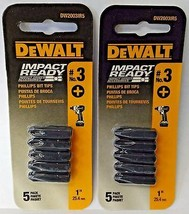 Dewalt DW2003IR5 #3 Phillips Impact Ready Screw Tips 2PKS - $2.97