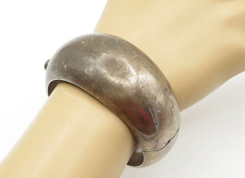 Primary image for BERNICE GOODSPEED MEXICO 925 Silver - Vintage Minimalist Bangle Bracelet - B6359